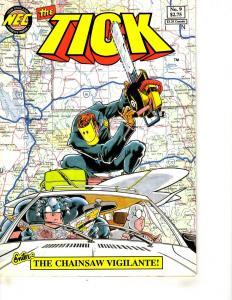 The Tick # 9 VF New England Comics Comic Book Super-Heroes J292