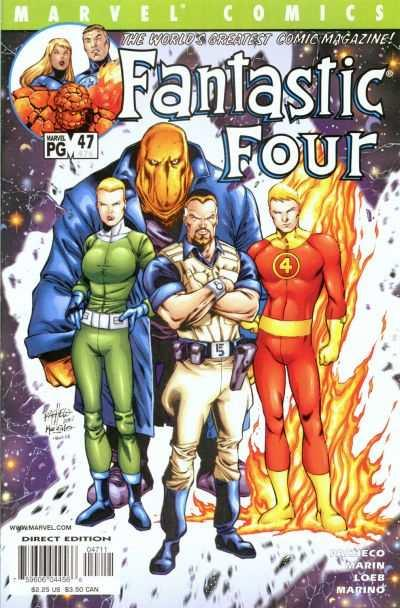 Fantastic Four (1998 series) #47, VF+ (Stock photo)
