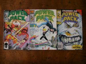 2 MARVEL Comic Book: (1986) POWER PACK #18 #22 #42