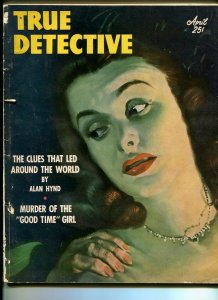 TRUE DETECTIVE -APRIL 1951-G-HARD BOILED-SPICY-RAPE-MURDER-BLACKMAIL FR/G