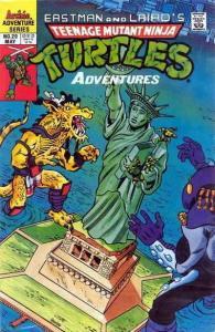 Teenage Mutant Ninja Turtles Adventures (2nd Series) #20 FN; Archie | save on sh