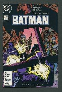Batman #406 (1st Print) Year One / 9.0 VFN/NM  April 1987