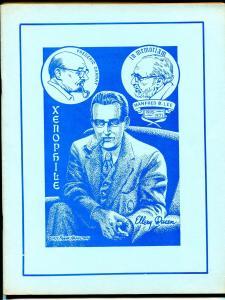 Xenophile  #14 1975-pulp collectors fanzine-Ellery Queen-FN