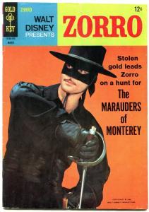 Zorro #5 1967- Dell Comics-- Walt Disney- Guy Williams VG+