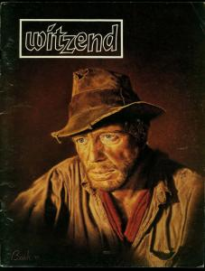Witzend Fanzine #12 1982- Wally Wood-Mike Zeck- Ditko VG