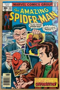 AMAZING SPIDER-MAN #169 (Marvel,6/1977) FINE (F) Len Wein! Ross Andru!