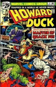 Howard The Duck #3 (ungraded) stock photo