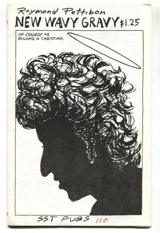 NEW WAVY GRAVY 1985 RAMOND PETTIBON FANZINE-BLACK FLAG--HENRY ROLLLINS-RARE