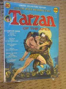Tarzan of the Apes #C-22 - DC Treasury Edition - b & b 6.0? - 1973