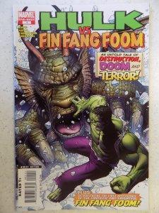 Hulk VS Fin Fang Foom #1 (2008)