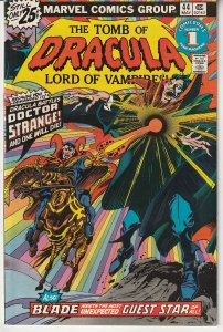 Tomb of Dracula(vol. 1) # 44 Dracula vs Dr. Strange !