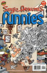 Sergio Aragonés Funnies #5 VF/NM; Bongo | save on shipping - details inside