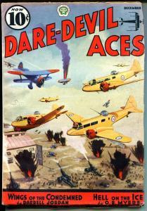 Dare-Devil Aces 12/1937-Popular-George Evan-Air Battle cover-FN MINUS