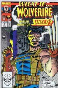 What If #7 ORIGINAL Vintage 1989 Marvel Comics Wolverine SHIELD