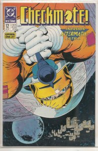 CHECKMATE #12, NM, DC, 1988 1989  more DC in store