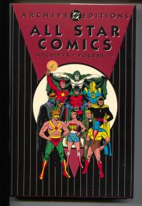 All Star Comics Archives-Vol 2-Golden Age Color Reprints-Hardcover