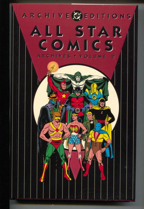 All Star Comics Archives-Vol 2-#7-10-Color-Hardcover