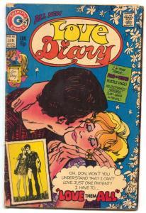 Love Diary #88 1974- Charlton Romance comic- VG+