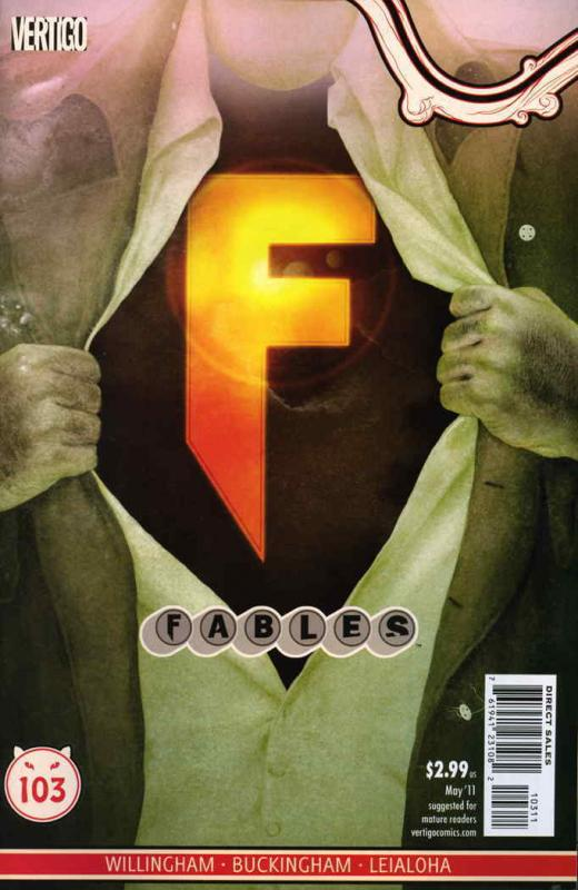 Fables #103 VF/NM; DC/Vertigo | save on shipping - details inside
