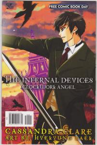 Infernal Devices Clockwork Angel Free Comic Book Day