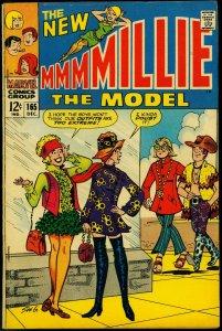 Millie the Model #165 1968- Stan Goldberg art- Psychedelic Fashions VG/F