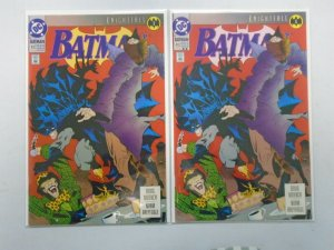 Batman #492 Knightfall 1st + 2nd Print 8.0 VF (1993)