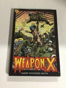 Weapon X Nm Near Mint Marvel Comics HC TPB