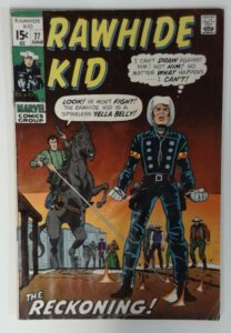 Rawhide Kid #77 Marvel Comic 1971 Bronze Age VG  Western Cowboy Comics