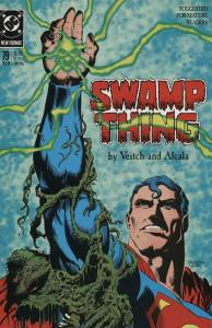 Swamp Thing (2nd Series) #79 VF/NM; DC   save on shipping - details inside