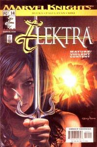 Elektra (2001 series) #14, NM (Stock photo)