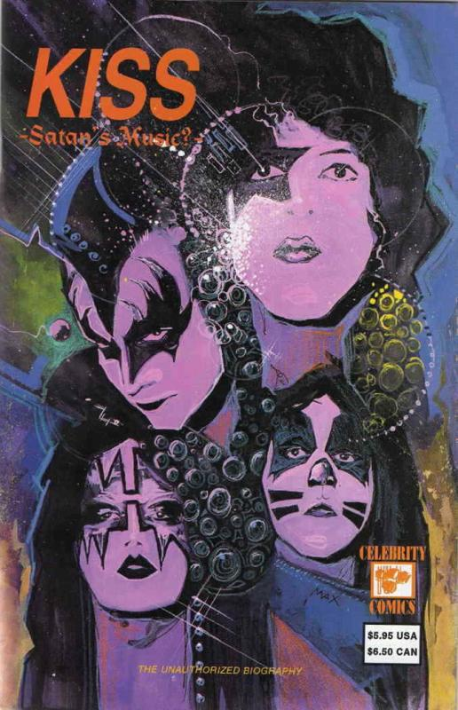 Kiss: Satan's Music? #1 VF/NM; Celebrity | save on shipping - details inside