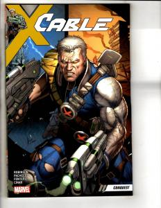Cable Conquest Vol. # 1 Marvel Comics TPB Graphic Novel Comic Book J301