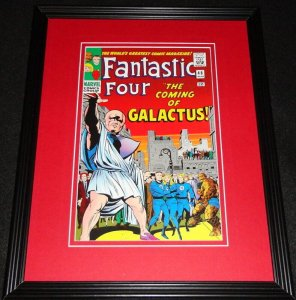 Fantastic Four #48 Silver Surfer Framed Cover Photo Poster 11x14 Official Repro