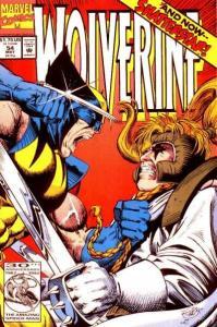 Wolverine (1988 series) #54, NM- (Stock photo)
