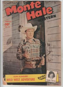 Monte Hale Western #45 (Feb-50) VG Affordable-Grade Monte Hale, Gabby Hayes