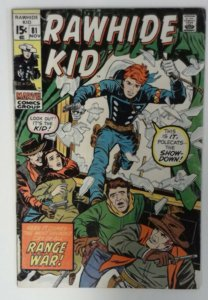 Rawhide Kid #81 Marvel Comic 1970 Bronze Age FN+  Western Cowboy Comics