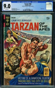 Tarzan #186 (Gold Key, 1969) RARE DOUBLE INTERIOR