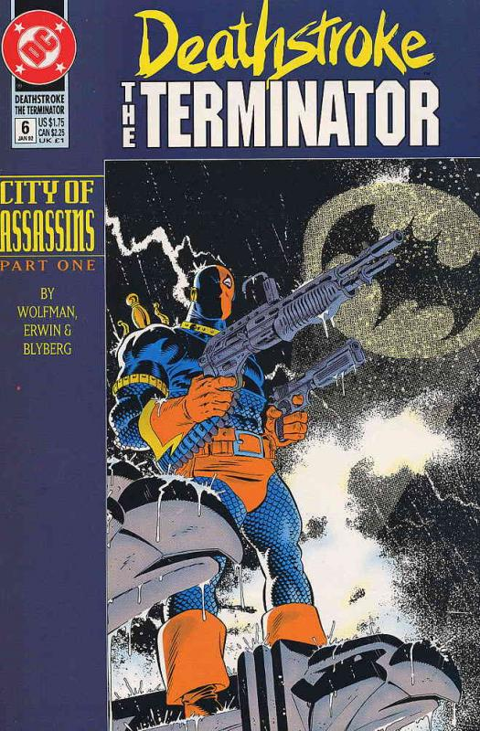 Deathstroke the Terminator #6 FN DC - save on shipping - details inside