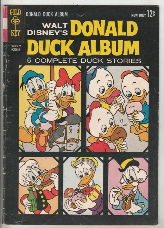 Donald Duck, Walt Disney's Album # 2 Strict FN Grandma Duck and Gus Goose