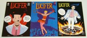Lucifer #1-3 VF/NM complete series - eddie campbell - paul grist - trident set 2