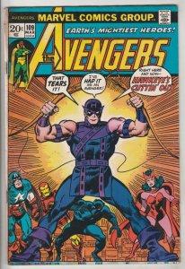 Avengers, The #109 (Mar-73) FN Mid-Grade Avengers
