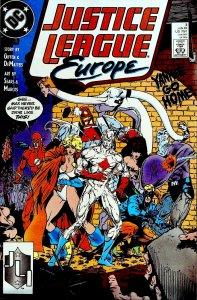 Justice League Europe #3 (1989)