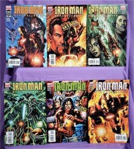 Adam Warren IRON MAN Hypervelocity #1 - 6 Brian Denham (Marvel, 2007)!