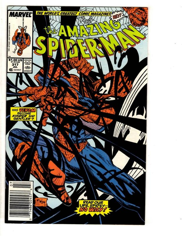 Amazing Spider-Man # 317 NM Marvel Comic Book Venom Goblin Mary Jane May JW2