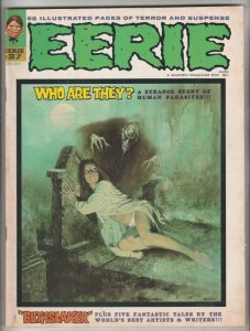 Eerie Magazine #37 (Jan-72) NM- High-Grade