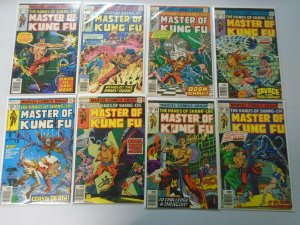 Master of Kung Fu lot 15 different from #58-75 avg 6.0 FN (1977-79)