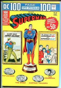 DC 100-PAGE SUPER SPECTACULAR #18-SUPERMAN-1973 HOURMAN VF