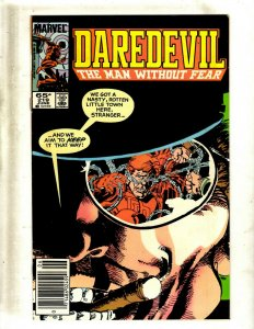Lot of 12 Daredevil Comics #219 228 230 233 235 238 240 245 248 249 251 255 GB1