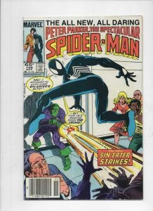 Peter Parker SPECTACULAR SPIDER-MAN #108 VF/NM Sin-Eater 1976 1985 more in store