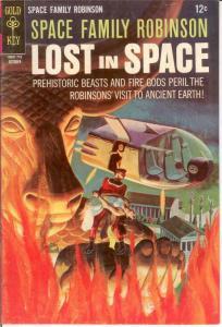 SPACE FAMILY ROBINSON 24 FINE Oct. 1967 COMICS BOOK